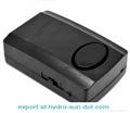 Wireless Remote Control Vibration Detector Alarm Security Bike Alarm System  4