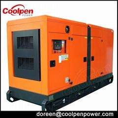cummins 150kw silent type diesel generator set