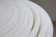东莞厂家直销莞郦白色音响吸音棉聚酯纤维环保吸音材料