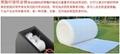 東莞廠家直銷莞酈白色音響吸音棉聚酯纖維環保吸音材料 3