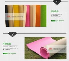 东莞厂家直销莞彩色视听室吸音棉GLSC环保吸音材料