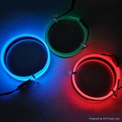 Neon Glowing Strobing Electroluminescent Wires (El Wire)