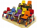 Indoor playground Kids furniture chairs and tables 2