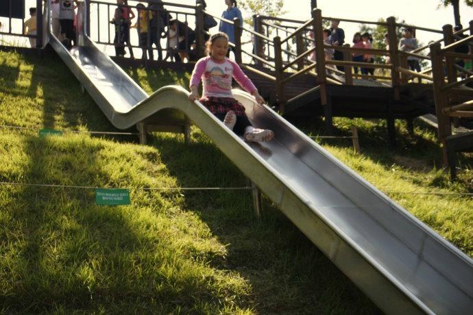 Staniness steel slide,mall steel slide and escaping slide 3