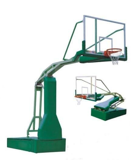 competitve standard NBA basketball stand 1