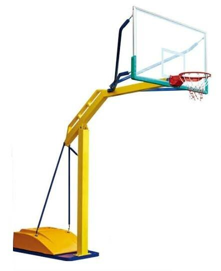 competitve standard NBA basketball stand 4