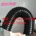 供應鍍銅鋼絲伸縮PU軟管規格5