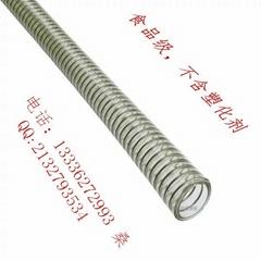 专业生产透明食品级钢丝软管无毒无味不含塑化剂