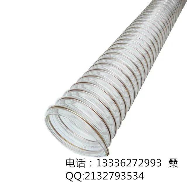 低價供應工業白酒設備用PU鋼絲軟管 4