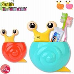 Creative Home Accessories Cartoon snail  Toothpaste Holder Bathroom Sets