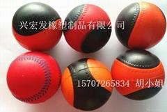 厂家直销PU发泡球,海洋球,自结皮玩具球
