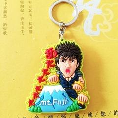 pvc軟膠鑰匙扣海賊王系列pvc鑰匙扣日本動漫公仔pvc鑰匙扣定做