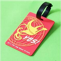 专业生产定做pvc行李牌 PVC软胶行李牌登机牌环保PVC行李牌