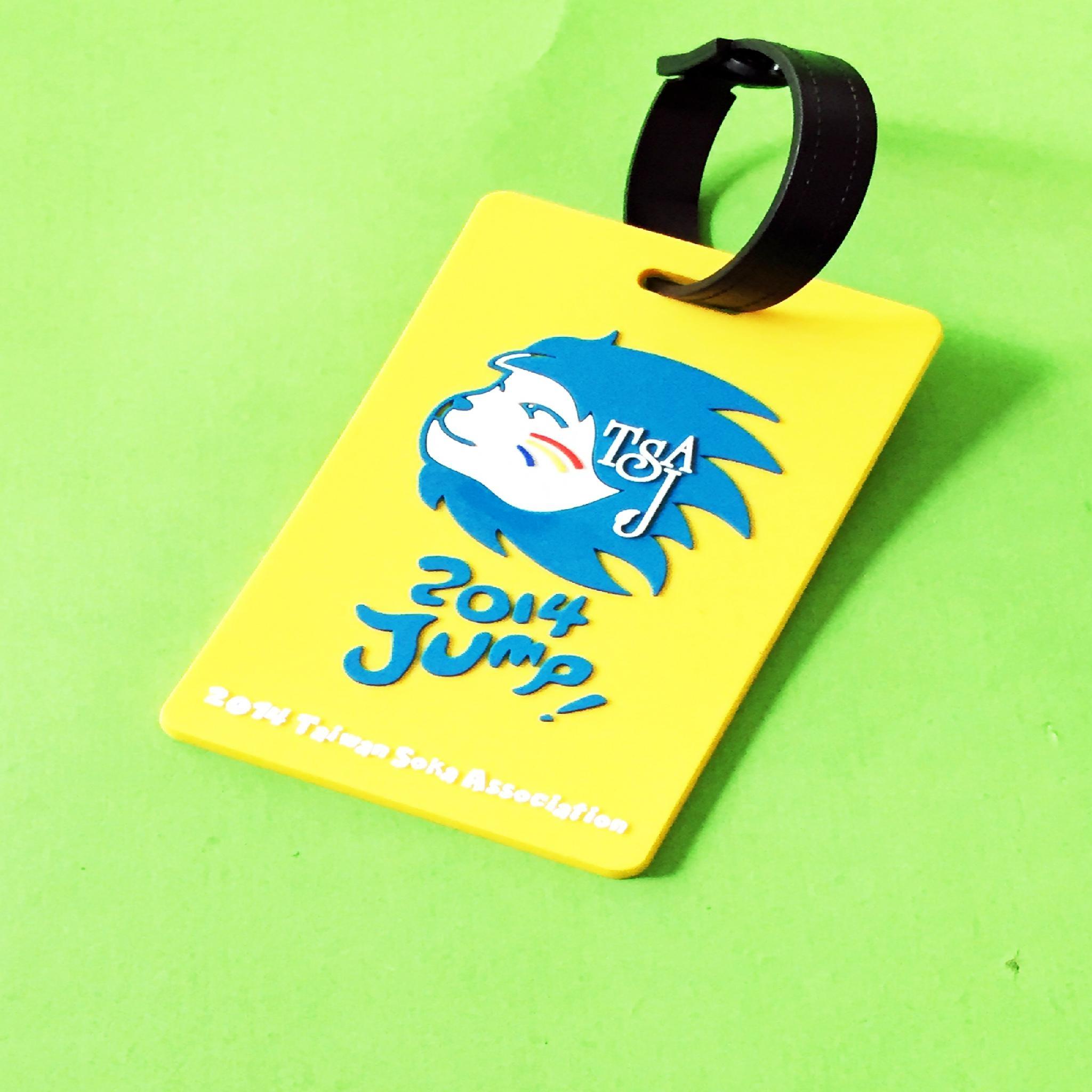 专业生产定做pvc行李牌 PVC软胶行李牌登机牌环保PVC行李牌 3