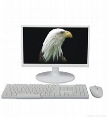 【高清IPS屏】22寸超薄電腦一體機辦公教學娛樂一體機
