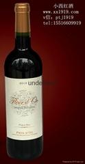 奧克之花干紅葡萄酒進口葡萄酒