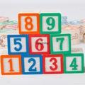 48 grain printing English alphabet blocks