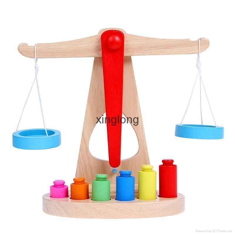 Wooden balance  1