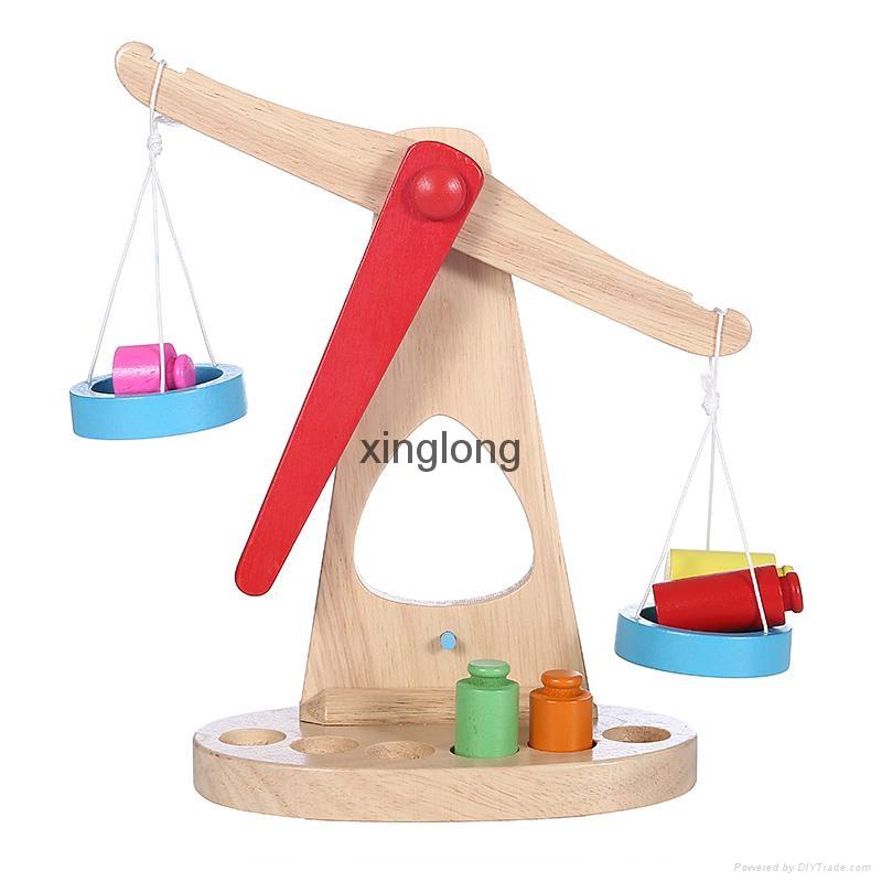 Wooden balance  2