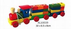 木製玩具車