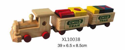 holesale wooden train christmas toys 3