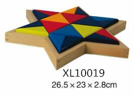 colorful wooden jenga, tangram puzzle 1