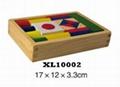 colorful wooden jenga, tangram puzzle 3