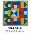 colorful wooden jenga, tangram puzzle 6
