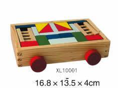 colorful wooden jenga, tangram puzzle 7