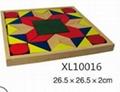 colorful wooden jenga, tangram puzzle 8