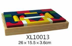 colorful wooden jenga, tangram puzzle 9