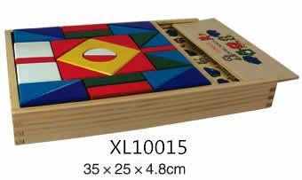 colorful wooden jenga, tangram puzzle 10