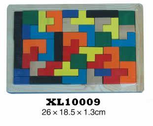 colorful wooden jenga, tangram puzzle 13