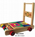 colorful wooden jenga, tangram puzzle 16