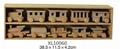 school kid play  scale model train handmade