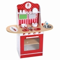 2016 hot sale modern wooden kitchen play set toy china for Kids kitchen set sale