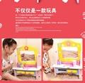 Wooden children kitchen play set toy