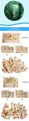 Kids toys wooden kitchen