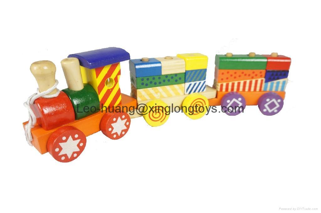 木製三節車 1
