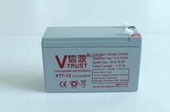 UPS电源电池12V7AH