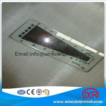 SUS 304 stainless steel wire mesh/cloth 5