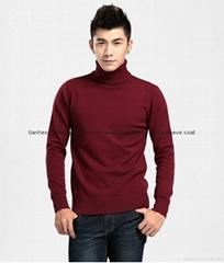 New men sweater pullovers warm knitwear