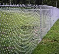 恩施高钢耐腐性镀锌浸塑不锈钢勾花网