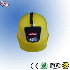 Advanced Digital LED Miner Lamp  headlamp cap light with Display