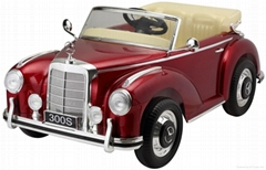 Baby ride on cars Mercedes licensed Classic kids electric cars roadster