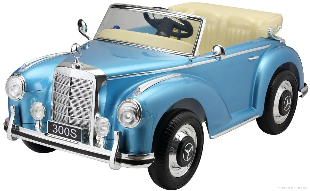 baby ride on cars mercedes licensed classic kids electric cars roadster 2