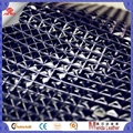 high gloss 3d design embossed pvc faux leather fabric for making bags 4