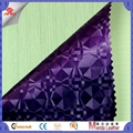3d vision design pvc artificial leather fabric for making bags ,interior  5