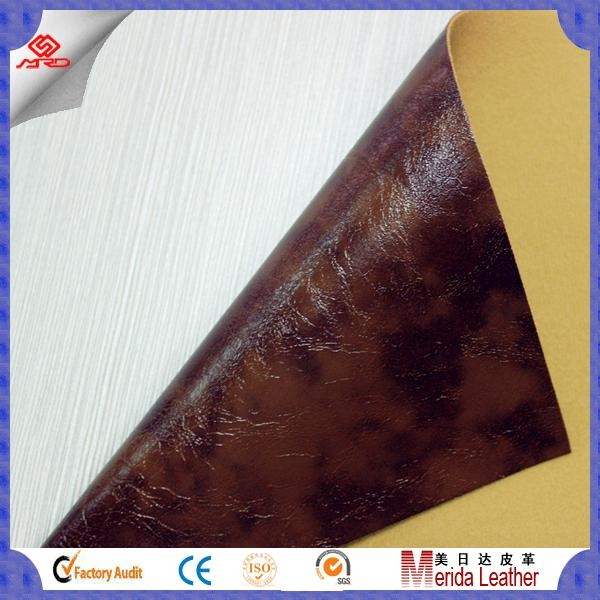 Guangzhou cheap high quality pvc artificial leather stocklot for sofa 3