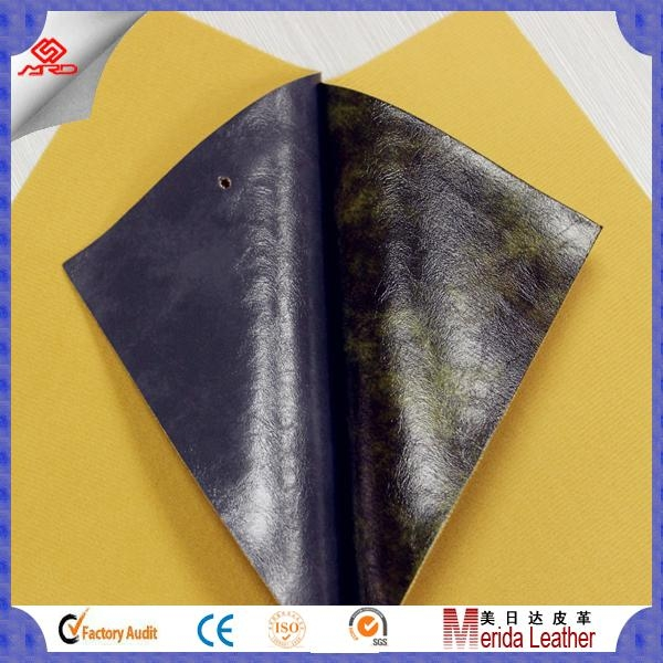 Guangzhou cheap high quality pvc artificial leather stocklot for sofa 4